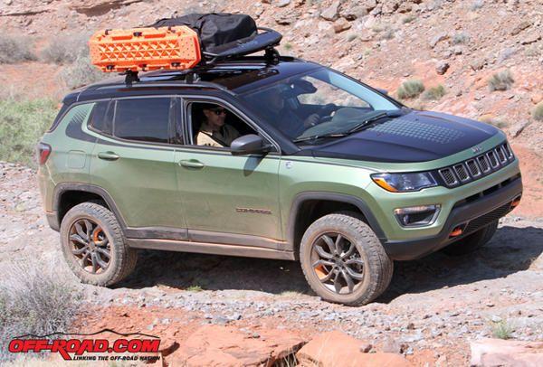 2 Jeep Compass Trailpass Concept Ejs 4 17 2017 Automoviles Todo