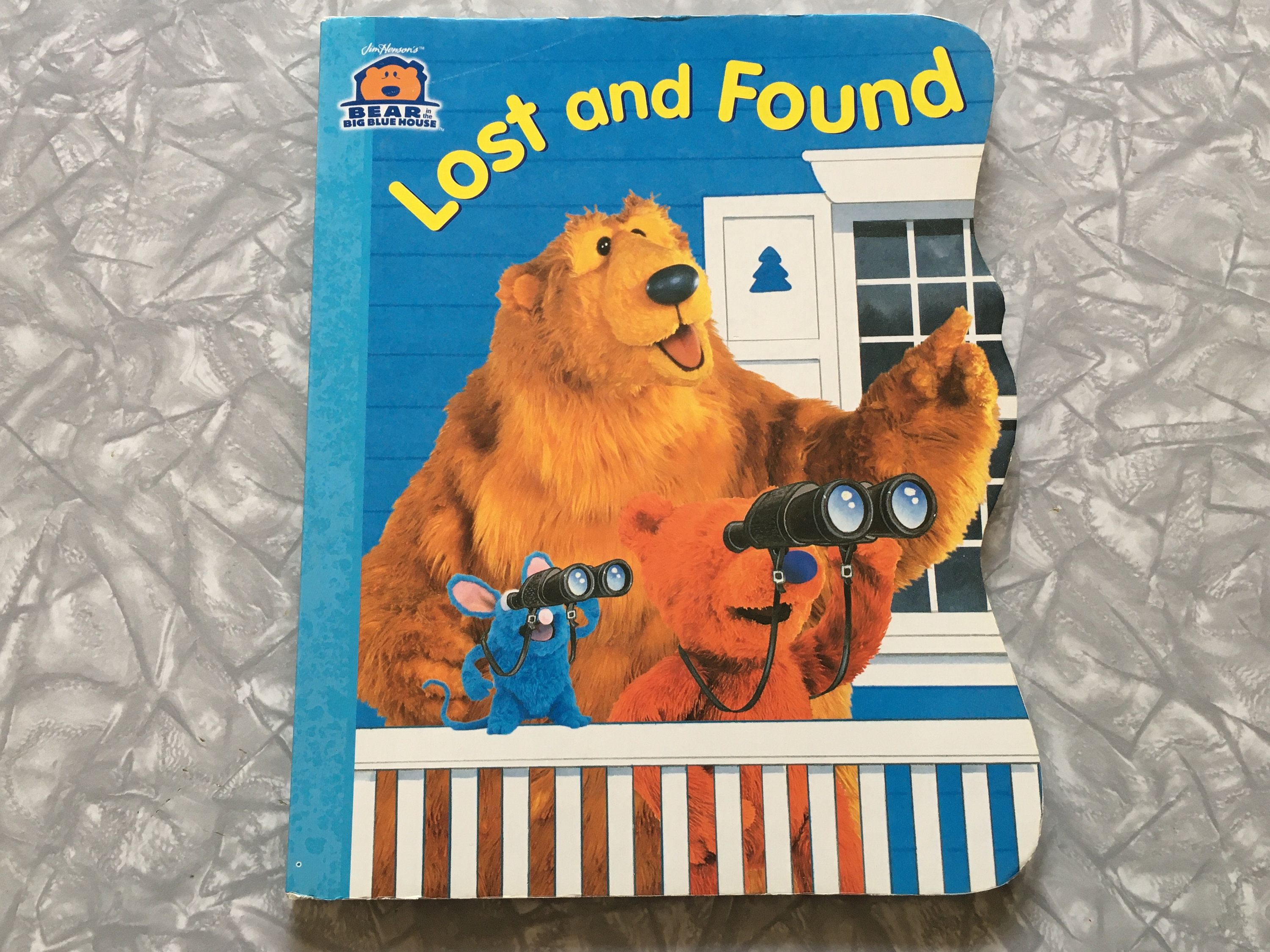 2000 Bear In The Big Blue House Lost And Found Large Format