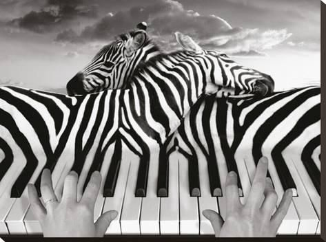 Piano peace stretched canvas prints canvases and amazing artwork piano peace kunst op gespannen canvas thecheapjerseys Gallery