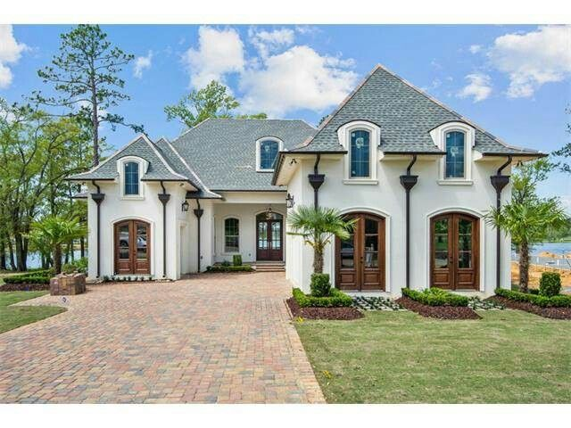 Louisiana Style Home Southern House Plans French Country House