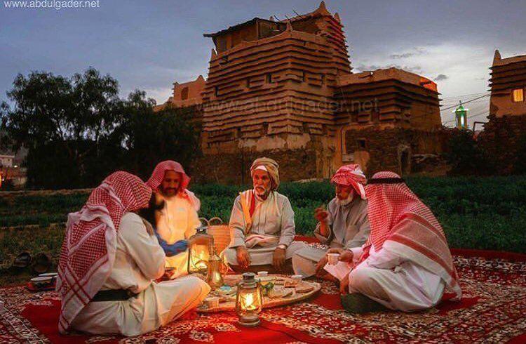 قرية الطلحة في ابها تصوير Photo Ancient Scenes