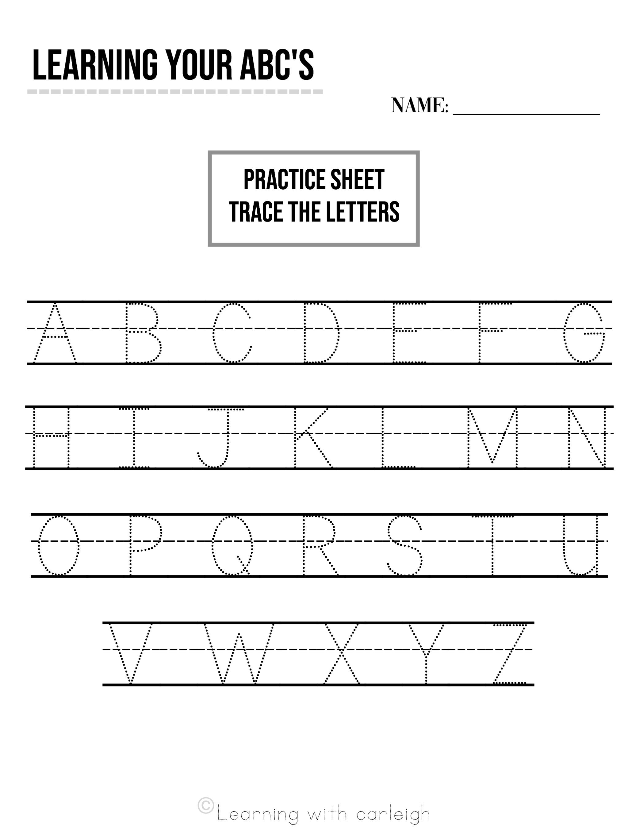 Abc Printable