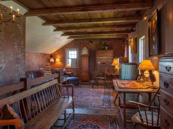 Pilgrim house, lovingly reassembled 350 years after its construction, is for sale
