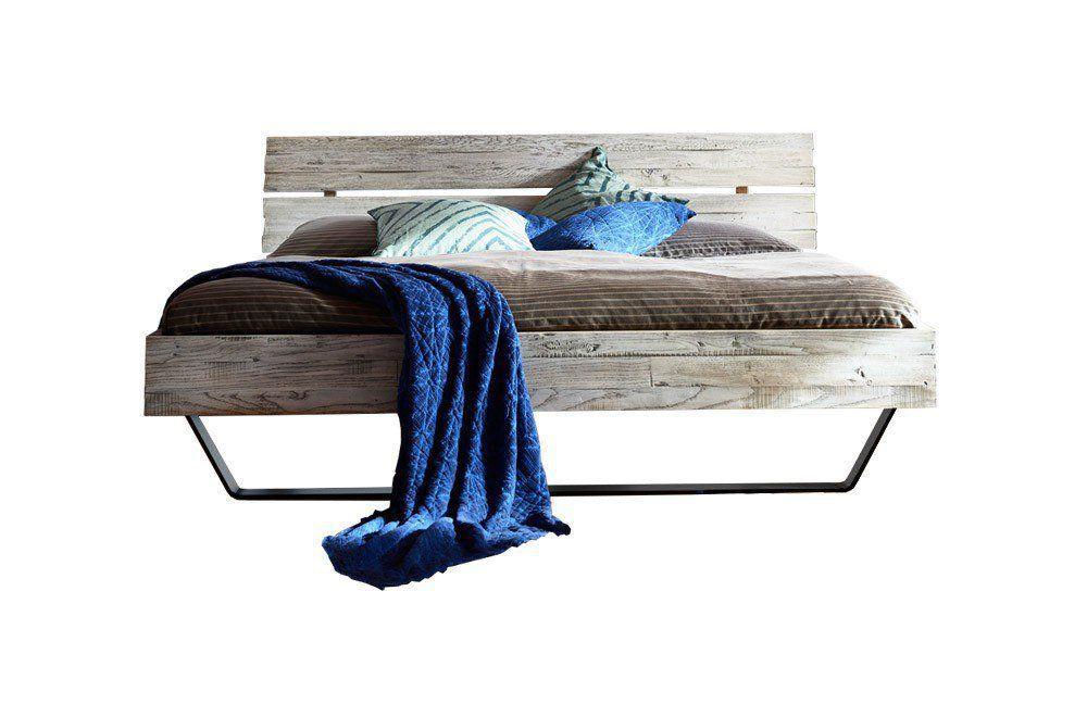 Tjoernbo Massivholz Bett Timber Look Kopfteil D Home
