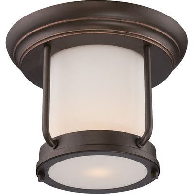 Nuvo Lighting Bethany 1 Light Flush Mount