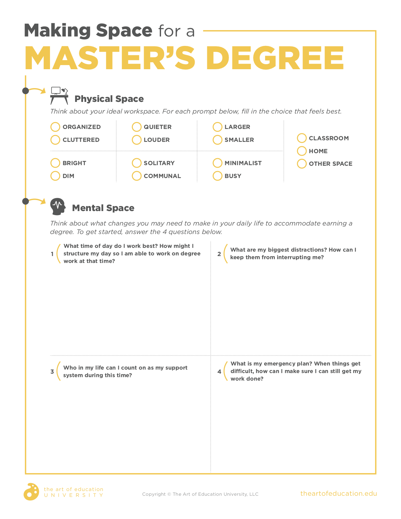 How To Create Space To Earn A Master S Degree Masters Degree Online College Master