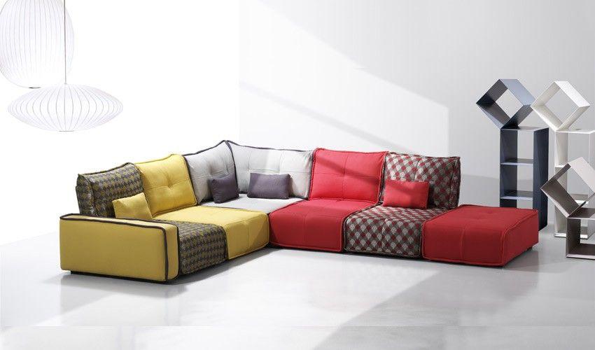 a45000 sof modular estilo vintage combinable segn el diseo que elijas - Sillones Diseo