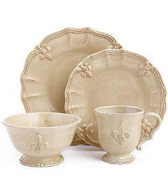 Artimino Tuscan Countryside Cream Dinnerware | Dillards.com | China ...
