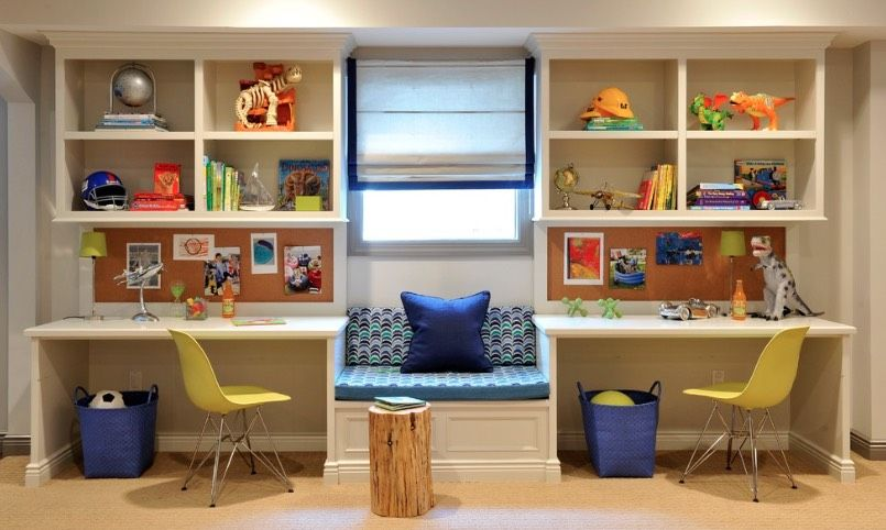 Back To School Homework Spaces And Study Room Ideas You Ll Love Kids Study Spaces Kids Study Table Study Room Design