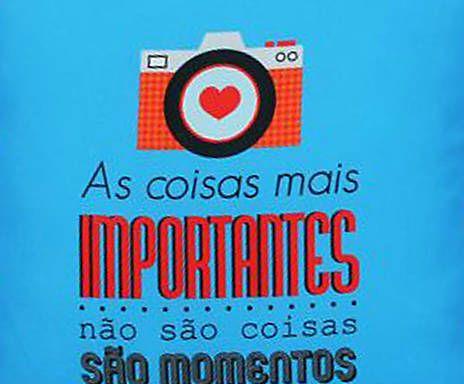 Almofada Momentos - 40x40cm