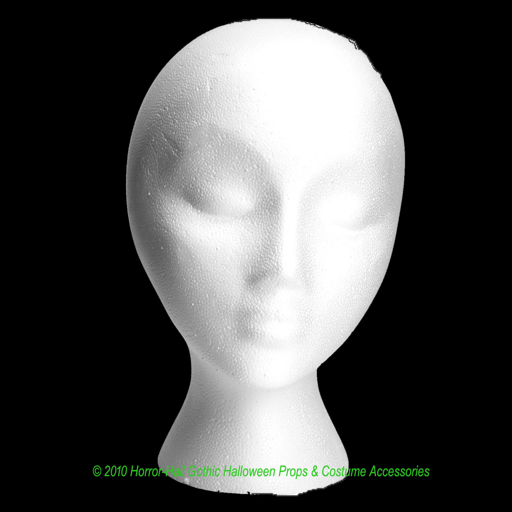 Life Size Haunted House Stage Theater Cheap Prop Building Supplies Styro Mannequin Head Halloween Mask Wi Cheap Halloween Props Mannequin Heads Halloween Masks