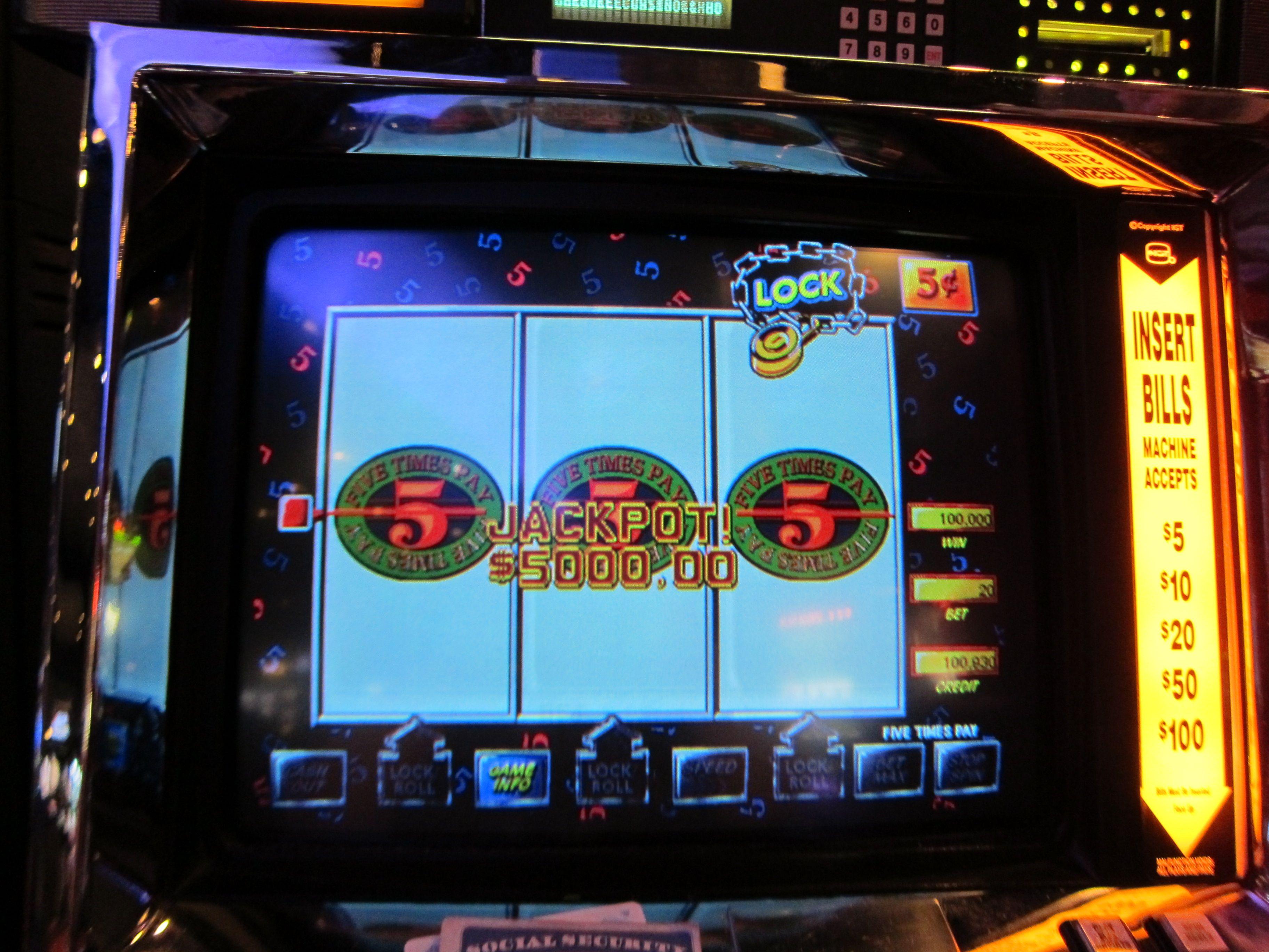 Jackpot at Harrah's Cherokee Casino Cherokee history