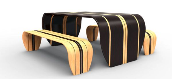 Decor Surfer Bench Modern bench Pinterest Bench designs