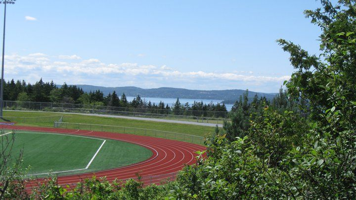 Our newly refurbished Canada Games Stadium, a great place to get a run in or take in a Seawolves soccer or football game.