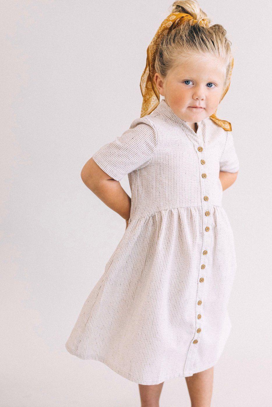 0a8a1e6fb0dd Mini Clements Woven Dress