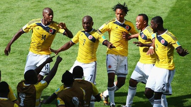 Colombia wins 3-0 against Greece: After 16 years Colombia must dance again Pablo Armero invites you to dance. Thus, Colombia pleased with the 1-0 lead again