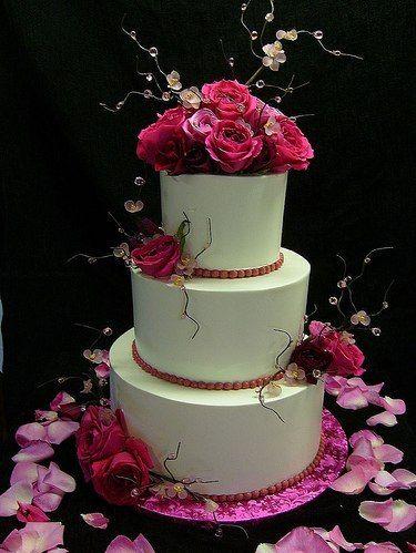 Wedding cake (pink style)