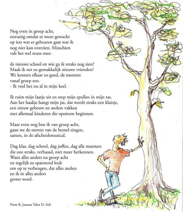 Goede afscheid groep 8 gedicht - Google zoeken (met afbeeldingen SN-96