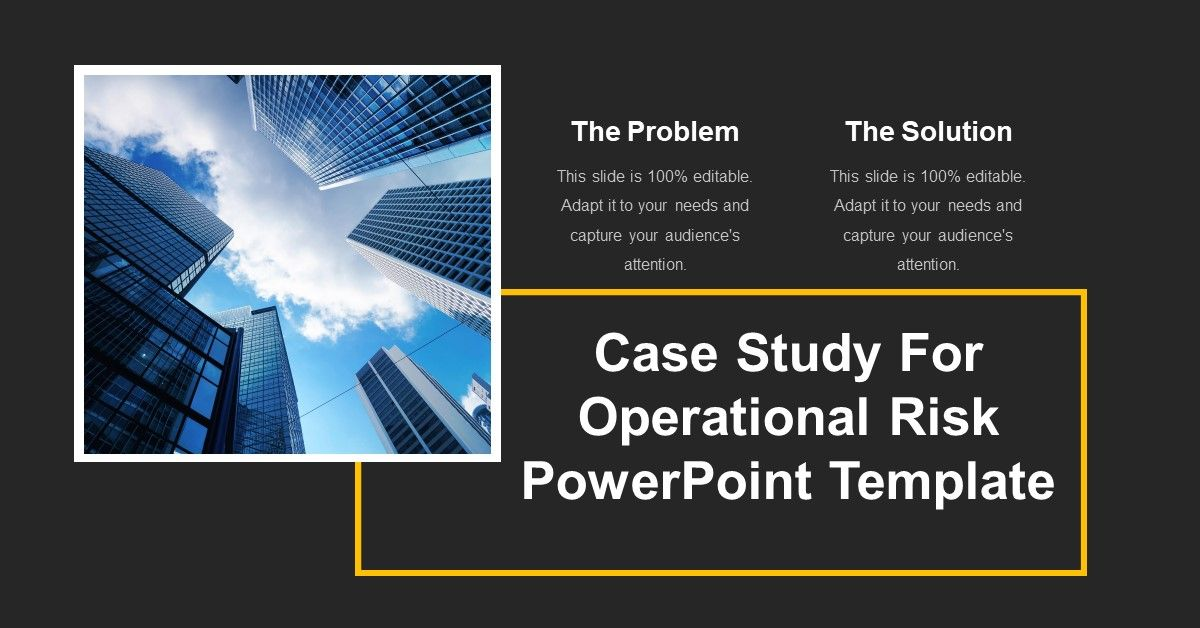 Get The Best Of The Case Study Ppt Templates For Your Next