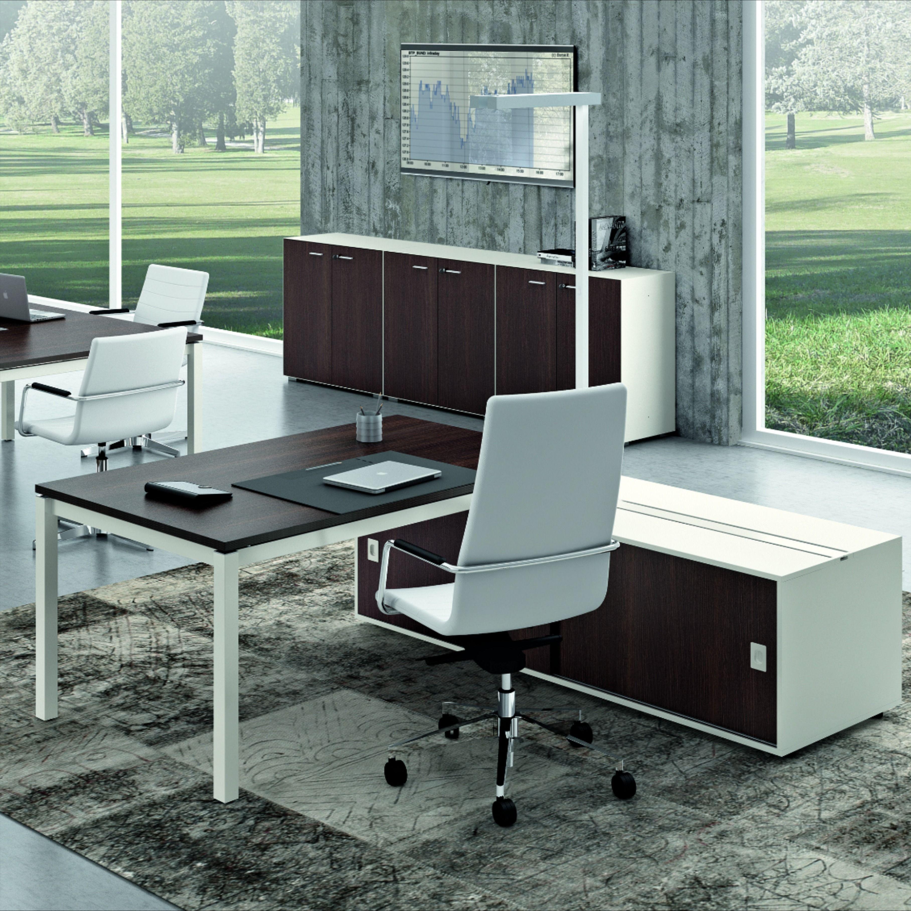 X4 Desk Quadrifoglio Group Office Furniture Mobili Per Ufficio Design Di Mobili Design Ufficio