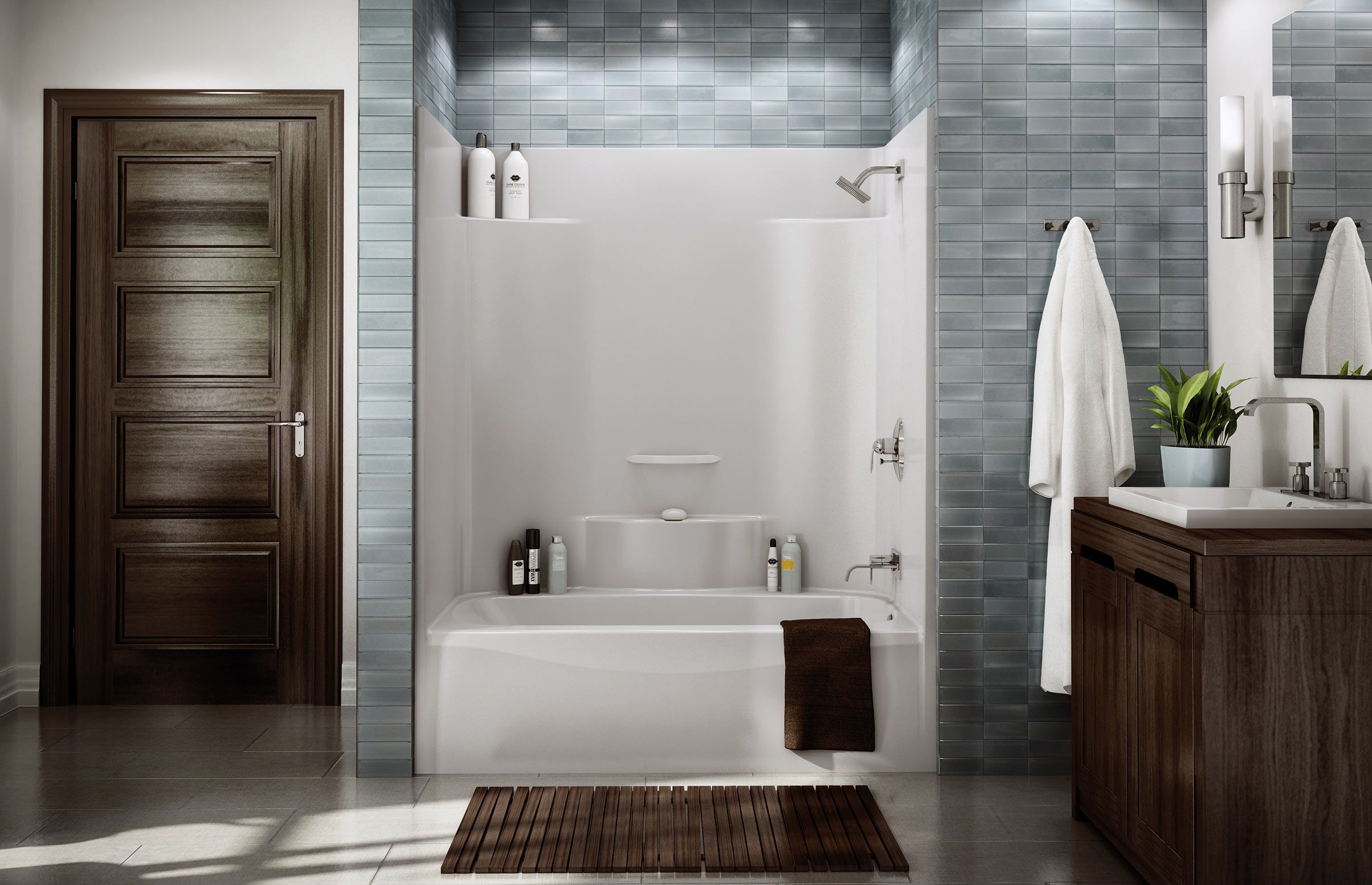 TS-3660 Alcove or Tub showers bathtub - MAAX | bathrooms small ...