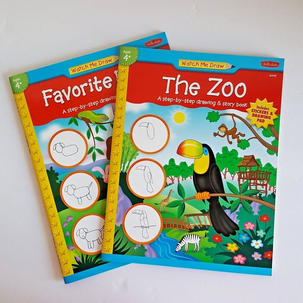 story Adult zoo book