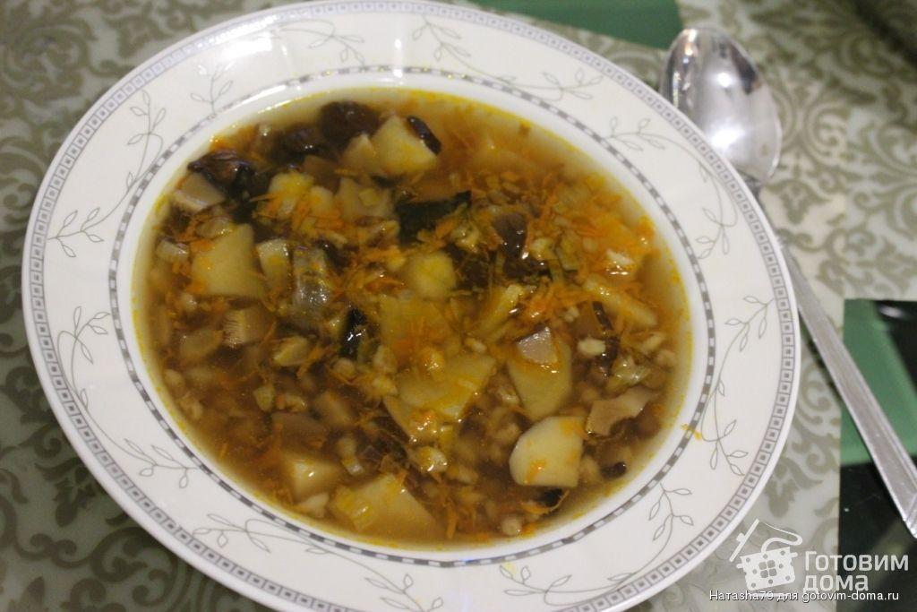 готовим дома грибной суп