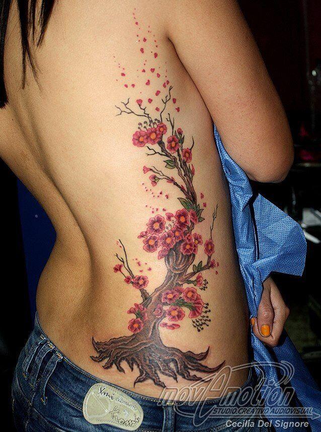 Tatuajes Arbol De Cerezo Buscar Con Google Tatuaje Arbol De La