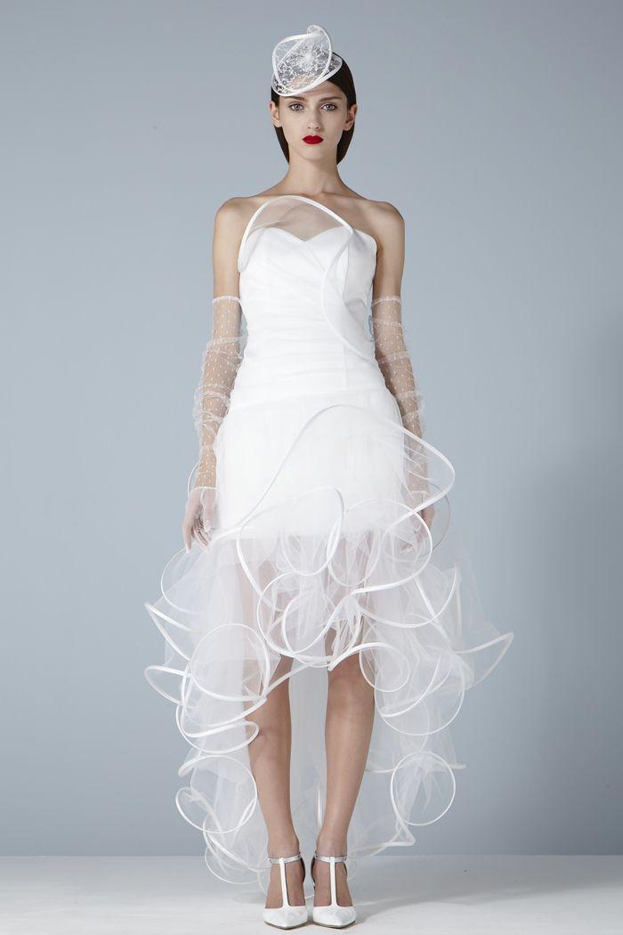 OPERA | Short Wedding Dress | Wedding Dresses | Pinterest | Short ...