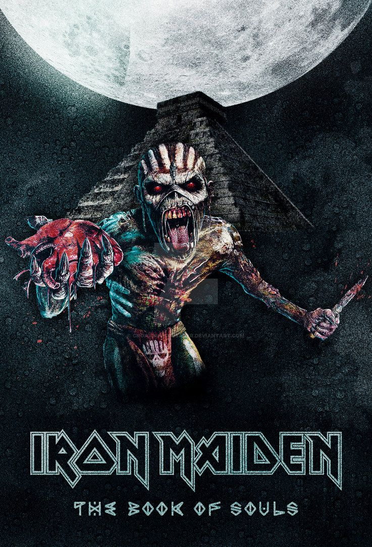 Iron Maiden The Book Of Souls Poster By Croatian Crusader