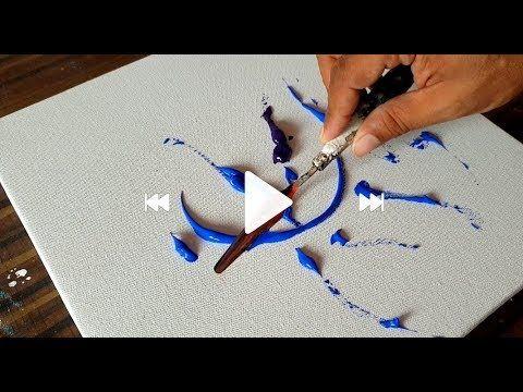 Youtube Acrylbilder Abstrakte Malerei Spachtelmalerei Und