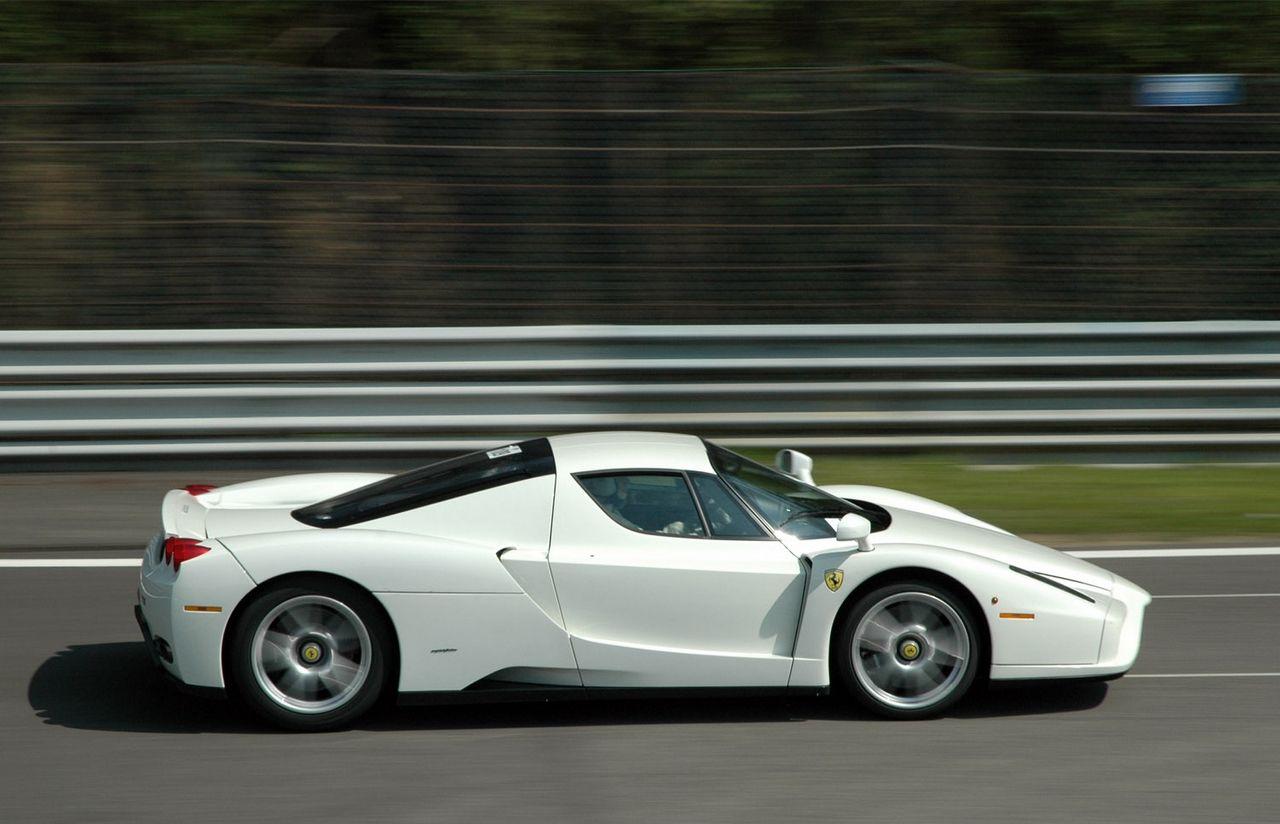 White Ferrari Enzo White Ferrari Ferrari Enzo Ferrari