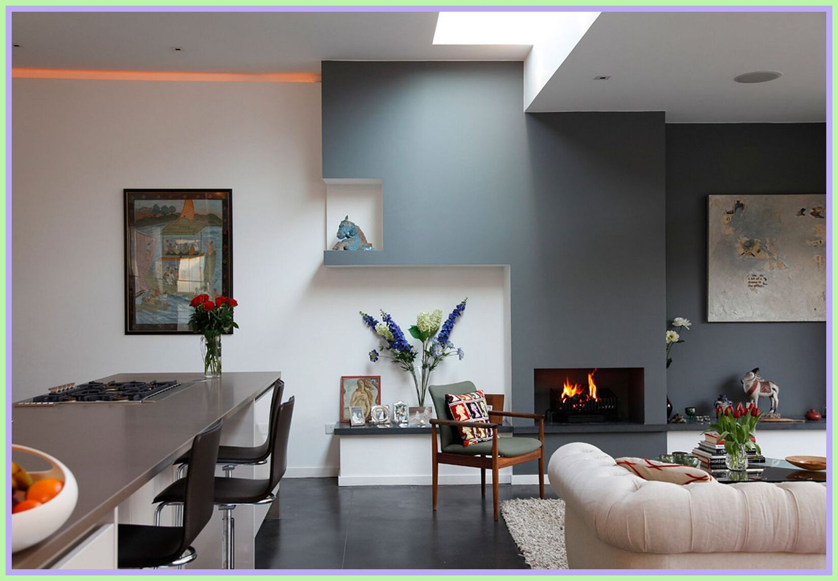 79 Reference Of Kitchen Dining Room Combo Layout Wall Color