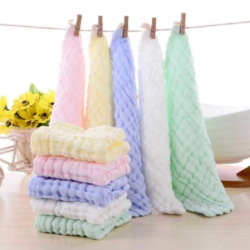 Multifunction 1 Piece Baby Bath Towels 100 Cotton Gauze Solid New Born Baby Towels Ultra Soft Strong Water Absor Cloth Bibs Baby Shoes Newborn Baby Bath Towel