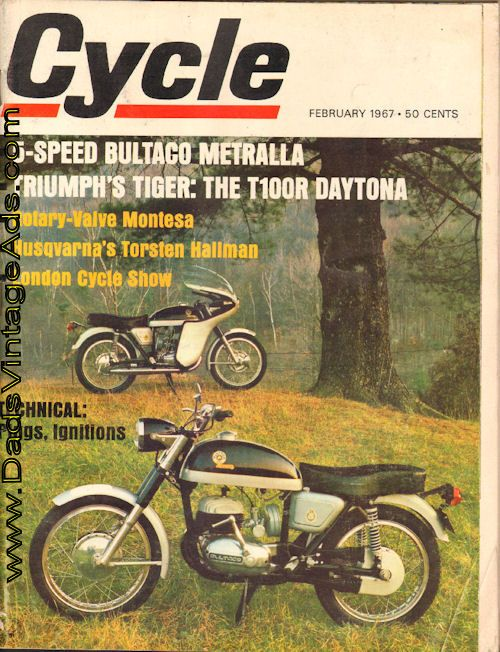 1967 Bultaco Metralla Road Test Spains Own Five Speed Super Swinger