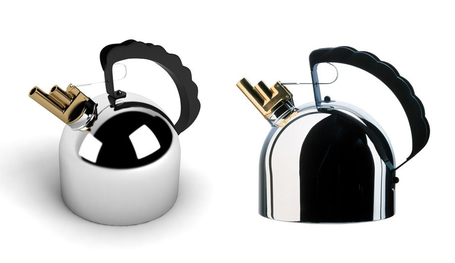The 9091 Kettle Designed By Richard Sapper For Alessi Features A