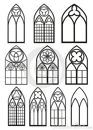 Windows In Gothic Style By Irop Via Dreamstime Hobbies Church