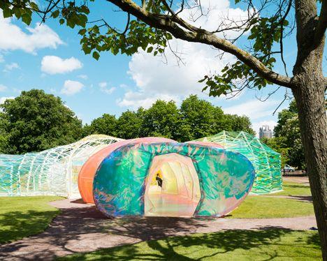 Serpentine Gallery Pavilion 2015 By Selgascano Floating Architecture Colour Architecture Architectural Photographers