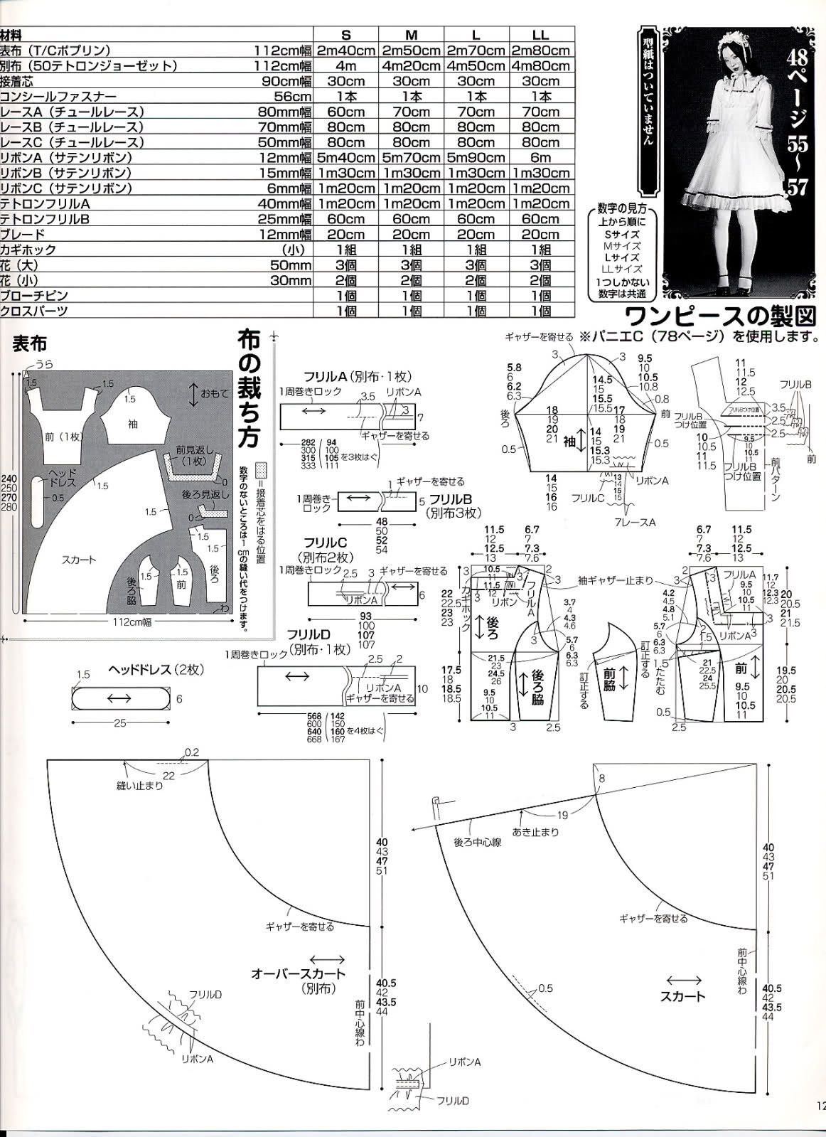 Op Diy Sewing Lolita Dress Pattern