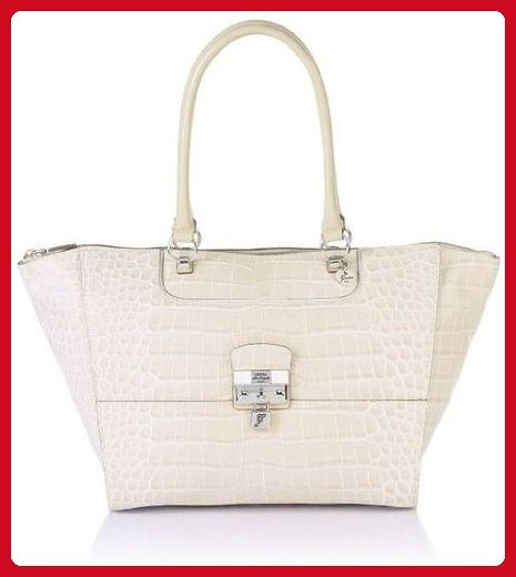 823a11355f70 Guess Yorkshire Satchel Handbag in Stone