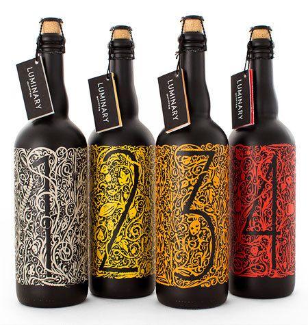 Luminary Quarter Beer — Designspiration | Packaging | Beer ...