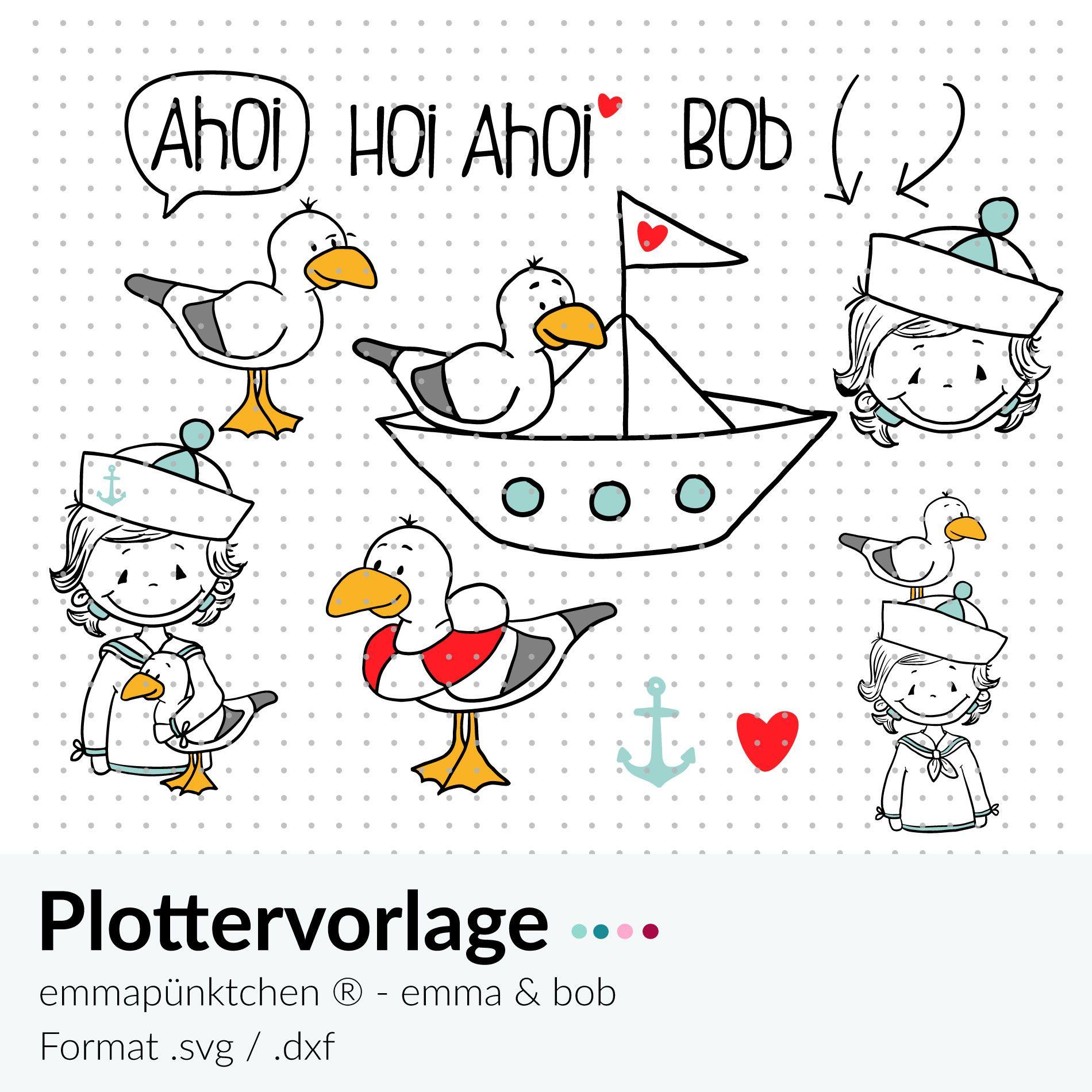 Photo of emmpünktchen ® – plotter file emma & bob