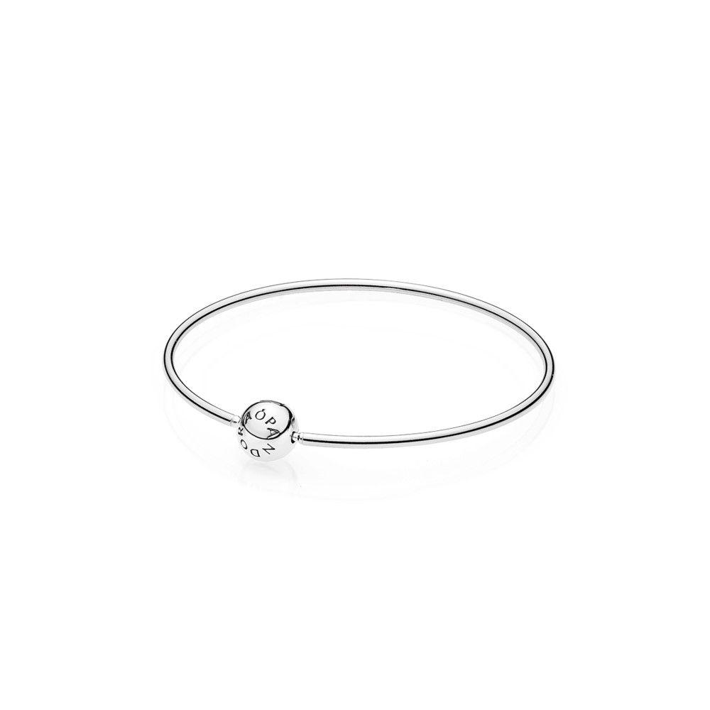 Pandora Essence 596006 Women's Bracelet with Ball Clasp 925Silver C8dmyxp