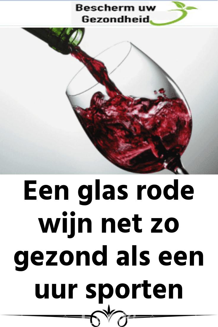 rode wijn gezond