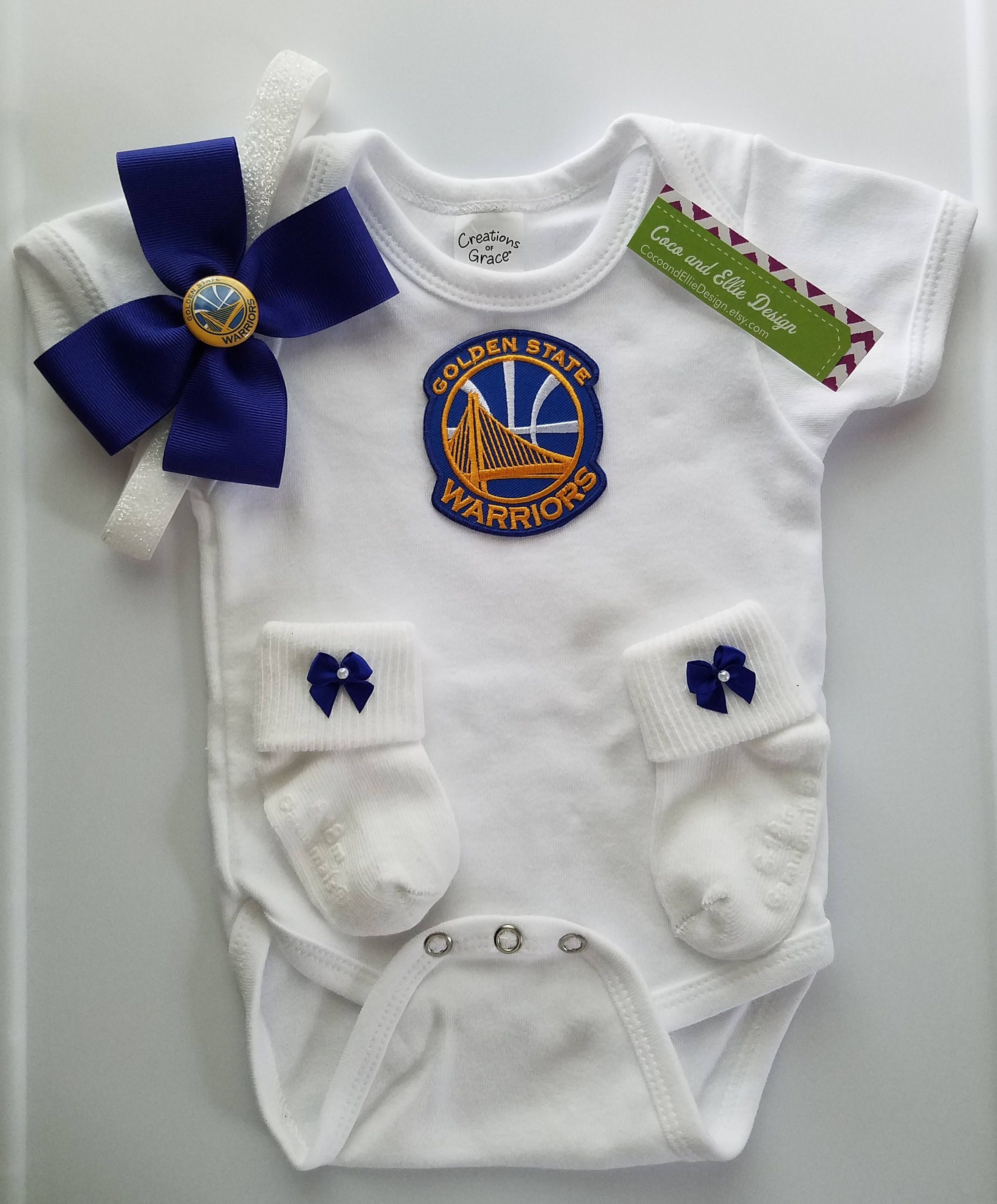 Golden state warriors outfit for baby girl golden state for baby