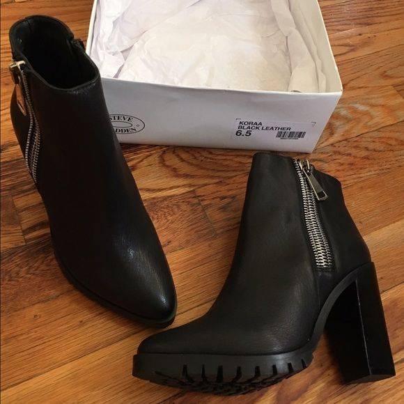 Shoes New. Never worn before. Steve Madden Shoes Ankle Boots & Booties