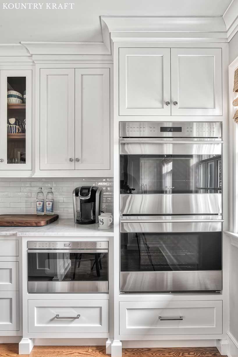 Custom Alpine White Cabinetry In Summit New Jersey Kitchen Cabinets Decor Diy Kitchen Renovation Kitchen Design