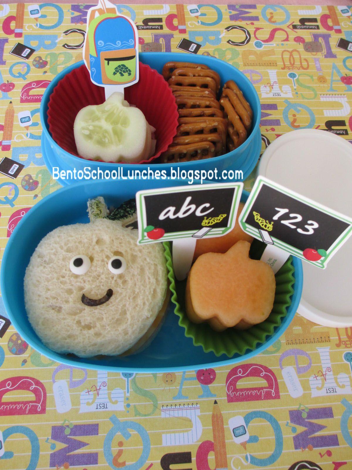 Bento School Lunches: Bento