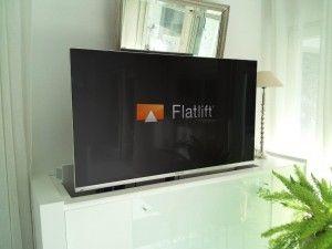 Tv Unsichtbar Im Wohnzimmer Verbaut Fernseher Verstecken