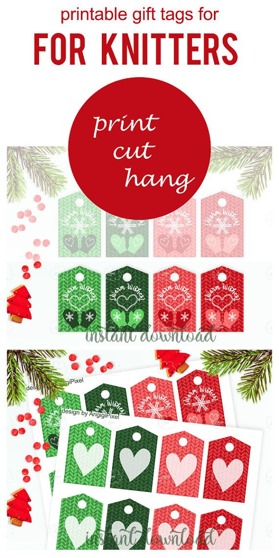 Printable X Mas Tags For Knitted Gifts Warm Wishes Tag Christmas Presents Tag Christmas Present Tags Unique Christmas Gifts Practical Christmas Gift